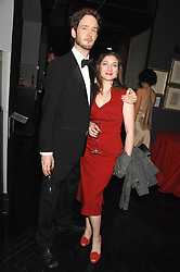 LORCAN O'TOOLE son of Peter O'Toole and KATE BURDETTE at Andy & Patti Wong's Chinese new Year party held at County Hall and Dali Universe, London on 26th January 2008.<br />