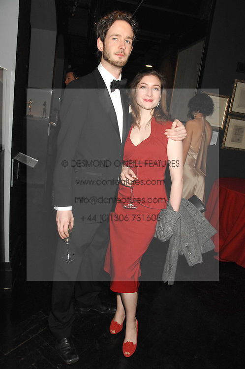 LORCAN O'TOOLE son of Peter O'Toole and KATE BURDETTE at Andy & Patti Wong's Chinese new Year party held at County Hall and Dali Universe, London on 26th January 2008.<br /><br />NON EXCLUSIVE - WORLD RIGHTS (EMBARGOED FOR PUBLICATION IN UK MAGAZINES UNTIL 1 MONTH AFTER CREATE DATE AND TIME) www.donfeatures.com  +44 (0) 7092 235465