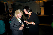 ROSALIE BLAIR AND CAROLYN MCCALL,, Veuve Cliquot Business Woman Award. Berkeley Hotel 8 April 2008.  *** Local Caption *** -DO NOT ARCHIVE-© Copyright Photograph by Dafydd Jones. 248 Clapham Rd. London SW9 0PZ. Tel 0207 820 0771. www.dafjones.com.