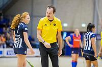 ROTTERDAM  - NK Reserve Hoofdklasse  Zaalhockey . SCHC D2 - HDM D2  (2-2, HDM wint shoot-outs) . scheidsrechter. COPYRIGHT KOEN SUYK