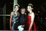 Lauren Bush, Bernie Ecclestone and Tamara Ecclestone. Crillon Haute Couture Ball. Crillon Hotel, Paris. 2 December 2000. © Copyright Photograph by Dafydd Jones 66 Stockwell Park Rd. London SW9 0DA Tel 020 7733 0108 www.dafjones.com
