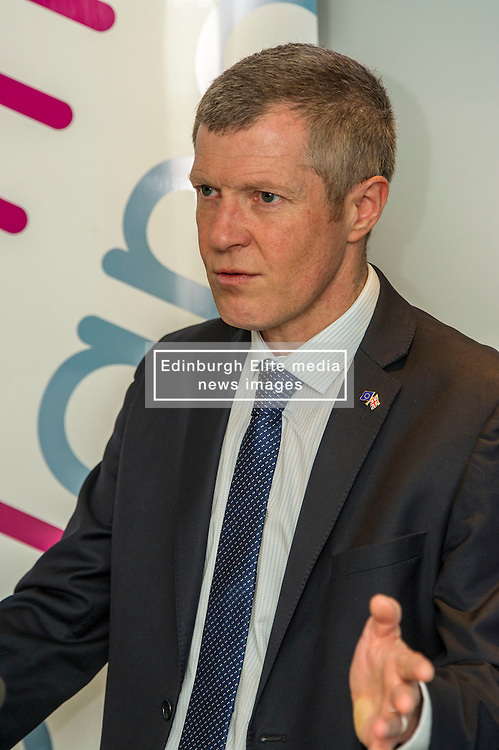 Pictured: <br /> Scottish Liberal  Party leader Willie Rennie delivered an address to Reform Scotland. This is the third event, organised by Shepherd and Wedderburn, in the think tank's series of speeches on the Scottish Government's tax and spending plans.<br /> <br /> Ger Harley   EEm 28 February 2017
