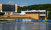 Poznan, POLAND, 23rd June 2019, Sunday,  Fish Women's Eights, AUS USA, GBRFinal at the FISA World Rowing Cup II, Malta Lake Course, © Peter SPURRIER/Intersport Images, <br /> <br /> 14:24:11