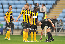 Referee Christopher Sarginson, Coventry City v Shreswsbury Town FC  Ricoh Arena, Football Sky Bet League One, Saturday 3rd October 2015