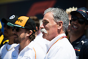 June 7-11, 2018: Canadian Grand Prix. Chase Carey, Chairman of the Formula One Group.