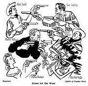 Arms for the West<br /> Branded ; Alan Ladd , Charles Bickford and Mona Freeman<br /> Battle of Powder River : Van Heflin , Jack Oakie and John War Eagle