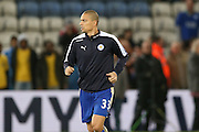 Leicester City midfielder Gokhan Inler  during the Barclays Premier League match between Leicester City and Manchester City at the King Power Stadium, Leicester, England on 29 December 2015. Photo by Simon Davies.