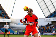 David Wheater of Bolton Wanderers during the Sky Bet Championship match at The Den, London<br /> Picture by David Horn/Focus Images Ltd +44 7545 970036<br /> 15/02/2014