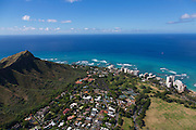 Gold Coast, Diamond Head, Waikiki, Honolulu, Oahu, Hawaii