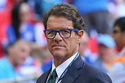 Ex-England manager Fabio Capello in attendance during the The FA Cup final match between Arsenal and Chelsea at Wembley Stadium, London, England on 27 May 2017. Photo by Shane Healey.