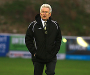 Dover Manager Chris Kinnear during the FA Trophy match between Whitehawk FC and Dover Athletic at the Enclosed Ground, Whitehawk, United Kingdom on 12 December 2015. Photo by Bennett Dean.