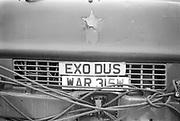 Front of Bedford bus, Exodus Free Festival, Luton, 1997.
