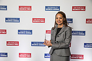Melissa Sladden of Chevron Products Company poses for a photo during the Bay Area Corporate Counsel Awards at The Westin San Francisco Airport in Millbrae, California, on March 18, 2019. (Stan Olszewski for Silicon Valley Business Journal)