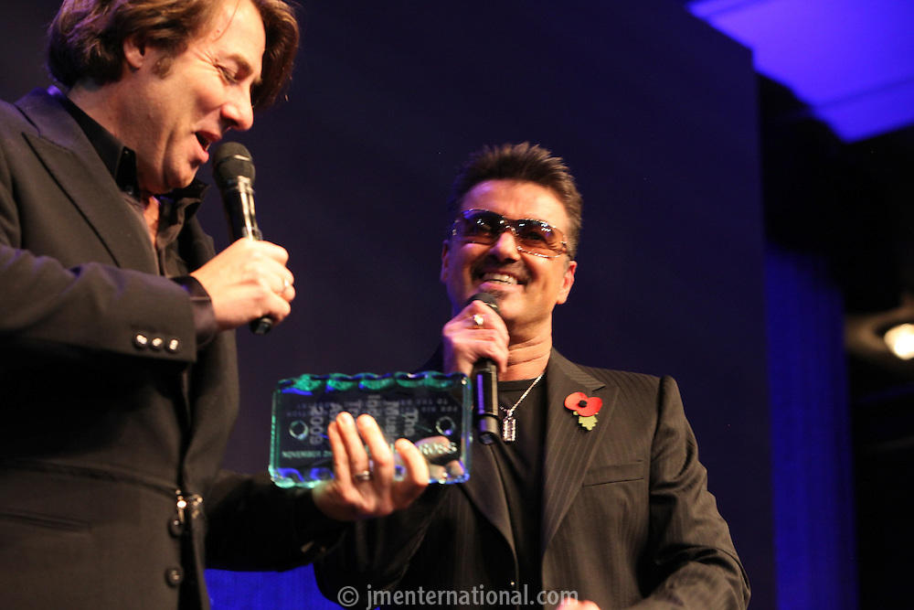 George Michael and Jonathan Ross