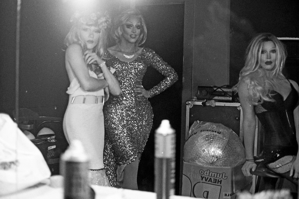 Backstage at The Imperial Hotel, Sydney