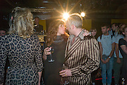 SARAH MORRIS; JOE CORRE, The Premiere of DD perfume by Agent Provocateur with a DD Fashion Show. Dolce. Air St. London. 25 September 2008 *** Local Caption *** -DO NOT ARCHIVE-© Copyright Photograph by Dafydd Jones. 248 Clapham Rd. London SW9 0PZ. Tel 0207 820 0771. www.dafjones.com.