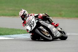 ALESSANDRO GRAMIG ITALY GATTOLONE DUCATI, World Supersport Superbike Championship Round 2 Donington Park 13th April 1998