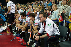 LEIZPIG - WC HOCKEY INDOOR 2015<br /> GER v NED (Semi Final 1)<br /> Germany lost the semi final<br /> FFU PRESS AGENCY COPYRIGHT FRANK UIJLENBROEK
