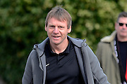 GLOUCESTERSHIRE, ENGLAND – MARCH 12: Stuart Pearce makes his debut for non-league Longford AFC as part of the #directfix campaign by Direct Line. Arriving