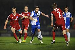 Bristol Rovers' Andy Monkhouse - Photo mandatory by-line: Dougie Allward/JMP - Mobile: 07966 386802 - 20/03/2015 - SPORT - Football - England - Memorial Stadium - Bristol Rovers v Aldershot - Vanarama Football Conference