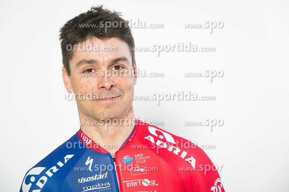 Jure Golcer during photo session of Cycling Team KK Adria Mobil, on January 22, 2018 in Novo Mesto, Novo Mesto, Slovenia. Photo by Vid Ponikvar / Sportida