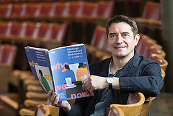 Asking the big questions Nick Barley, Director of the Edinburgh International Book Festival launches the 2017 Book Festival programme. The Book Festival examines not only the big, global questions exploring truth and post-truth, terrorism and fanaticism, gender, diversity and identity, death, globalisation but also celebrates the most joyful, intimate and personal stories of individuals. From 12 to 28 August, conversations, performances, lectures, workshops and discussions featuring 1000 writers from over 50 countries offer multiple perspectives, interpretations and translations of the changing world. <br /> <br /> Pictured: Nick Barley, Director Edinburgh International Book Festival
