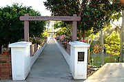 Goldenrod Footbridge In Corona Del Mar Newport Beach California