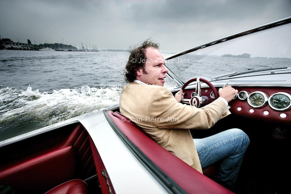 Nederland,Oud Loosdrecht ,13 juni 2007..Maarten de Bruijn , oprichter en ontwerper van Spyker Automobielen, heeft per 1 juli jl. een nieuw bedrijf opgericht te Hilversum onder de naam 'Silvestris ...