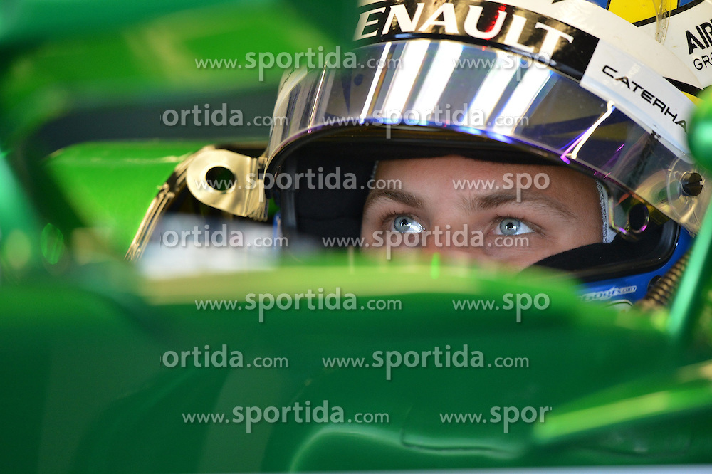 04.07.2014, Silverstone Circuit, Silverstone, ENG, FIA, Formel 1, Grand Prix von Grossbritannien, Training, im Bild Marcus Ericsson (SWE) Caterham // during the practice of British Formula One Grand Prix at the Silverstone Circuit in Silverstone, Great Britain on 2014/07/04. EXPA Pictures &copy; 2014, PhotoCredit: EXPA/ Sutton Images<br /> <br /> *****ATTENTION - for AUT, SLO, CRO, SRB, BIH, MAZ only*****