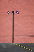 Pelota court, Bidart, Basque Country, France