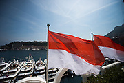 May 24-27, 2017: Monaco Grand Prix. Monaco flags