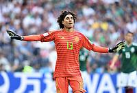 Torwart Guillermo Ochoa (Mexiko)<br /> Moskau, 17.06.2018, FIFA Fussball WM 2018 in Russland, Vorrunde, Deutschland - Mexiko 0:1<br /> Tysland - Mexico<br /> Norway only