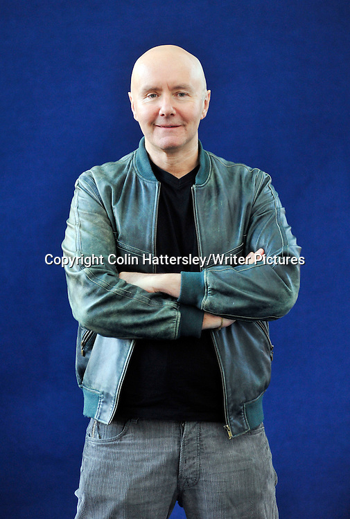 Irvine Welsh at the Edinburgh Book Festival, 210808<br /> <br /> copyright Colin Hattersley/Writer Pictures<br /> contact +44 (0)20 822 41564 <br /> info@writerpictures.com <br /> www.writerpictures.com