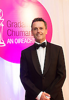 report free. TG4, the Irish language television station, was presented with the Lifetime Achievement Award by President Michael D. Higgins at the Oireachtas Media Awards on Friday night (May 13th). Other winners on the night included Bl&aacute;thnaid N&iacute; Chofaigh for her weekly RT&Eacute; Raidi&oacute; na Gaeltachta show &lsquo;Bl&aacute;thnaid Libh&rsquo;, St&iacute;of&aacute;n &Oacute; Fearail, from Gaeltacht band Seo Linn and Alan Titley, Irish Times columnist.<br /> Best Radio Broadcaster went to Raidio na Gaeltachta&rsquo;s R&oacute;n&aacute;n Mac Aodha Bhu&iacute; whilst S&iacute;le Nic Chonaonaigh took home the award for Best Television Broadcaster. Galway&rsquo;s Tara Breathnach won Best Actor for her role as the mother of an autistic boy in Maidhm.<br /> The annual awards, which took place in the Salthill Hotel, Galway, celebrate achievement and excellence in the Irish language media sector and honour actors, journalists, presenters, programme makers and others who have excelled in their contributions in the last year. A new category for Best Short Film was introduced this year and was won by Meangadh F&iacute;b&iacute;n for their film Sn&aacute;mh in aghaidh Easa.<br /> &ldquo;It&rsquo;s a huge honour to have the President present the awards, particularly as TG4 celebrates its 20th anniversary this year&rdquo; said Liam &Oacute; Maolaodha, Director of an tOireachtas. &ldquo;President Higgins played an integral part in the founding of the station and has always been an advocate for both Irish language media and the arts. These awards are one of the highlights of the Irish language media sector&rsquo;s calendar and reflect and celebrate the thriving industry that it&rsquo;s become,&rdquo; he added.<br /> Independent filmmakers Magamedia took home the award for Best Television Series for EIPIC as well as Best Television Programme for Deoch an Dorais. The documentary tells the true story of Irishman Mike Malloy who&nbsp;survived over 20 attempts on his life in depression-era New York.<br /> Photos caption:<br /> Pictured at the Oireachtas Media Awards in the Salthill Hotel Galway wasmc for the night Aengus Mac Grianna RTE . These