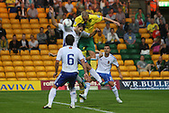 Steve Morison of Norwich heads for goal during a pre season friendly at Carrow Road stadium, Norwich...Picture by Paul Chesterton/Focus Images Ltd.  07904 640267.3/8/11