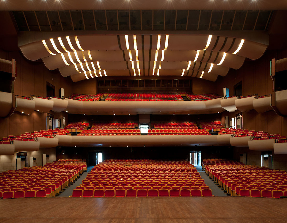 Interiors of the National Theatre, Accra, Ghana 2011