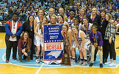 2017 NCHSAA 3A Women's Basketball Championship Game Northen Guilford vs Hickory Rigde