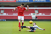 Nottingham Forest U23's Anel Ahmedhodzic during the U23 Professional Development League Play-Off Final match between Nottingham Forest and Bolton Wanderers at the City Ground, Nottingham, England on 4 May 2018. Picture by Jon Hobley.