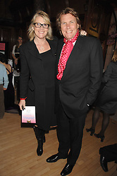 THEO & LOUISE FENNELL at a party to celebrate the publication of 'Seven Secrets of Successful Parenting' by Karen Doherty and Georgia Coleridge, held at Chelsea Town Hall, King's Road, London on 28th April 2008.<br /><br />NON EXCLUSIVE - WORLD RIGHTS