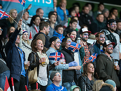 30.05.2014, Tivoli Stadion, Innsbruck, AUT, Fussball Testspiel, Oesterreich vs Island, im Bild Fans Island // Supporters Iceland during the International Friendly between Austria and Iceland at the Tivoli Stadion in Innsbruck, Austria on 2014/05/30. EXPA Pictures © 2014, PhotoCredit: EXPA/ Johann Groder