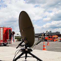 Images d'illustration r&eacute;alis&eacute;es au Service D&eacute;partemental de S&eacute;curit&eacute; Incendie de Seine et Marne dans le cadre d'un voyage de presse organis&eacute; par le GICAT.<br /> Mai 2014 / Melun (77) / FRANCE