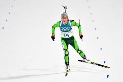 February 10, 2018 - Pyeongchang, South Korea - 180210 LDarya Domarcheva of Belarus  competes in the Women's Biathlon 7,5 km Sprint during day one of the 2018 Winter Olympics on February 10, 2018 in Pyeongchang..Photo: Petter Arvidson / BILDBYRN / kod PA / 87614 (Credit Image: © Petter Arvidson/Bildbyran via ZUMA Press)