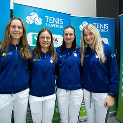 20200131: SLO, Tennis - TZS Press conference before Fed Cup