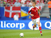 Fotball<br /> Privatlandskamp<br /> Danmark v Brasil<br /> 26.05.2012<br /> Foto: Witters/Digitalsport<br /> NORWAY ONLY<br /> <br /> Daniel Agger (Daenemark)<br /> Fussball, Testspiel, Brasilien - Daenemark 3:1