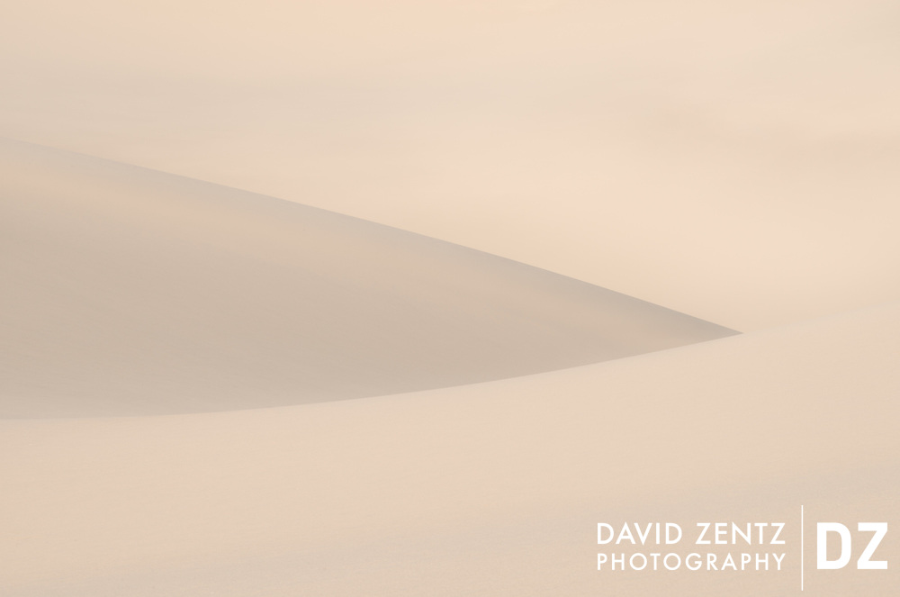Drift - Fine art landscape series on the Eureka Dunes in Death Valley National Park.