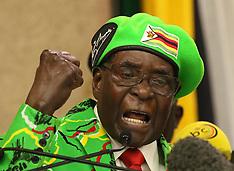 President Robert Mugabe addressing the ruling party - 7 Oct 2017