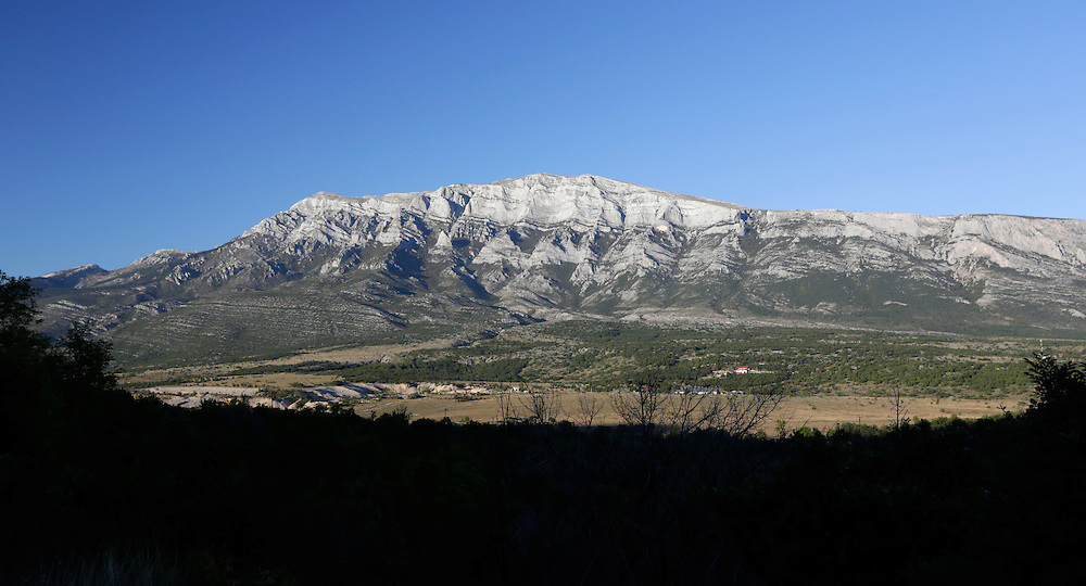 Dinara mountain, containing the highest peak of Croatia.