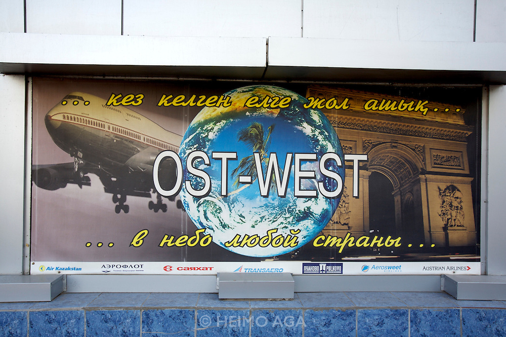 Ost-West (East-West) travel agency.