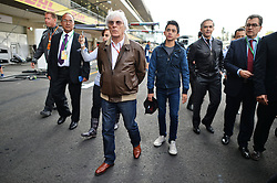 Bernie Ecclestone (GBR).<br /> 27.10.2016. Formula 1 World Championship, Rd 19, Mexican Grand Prix, Mexico City, Mexico, Preparation Day.<br />  <br /> / 271016 / action press