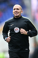 Referee Mike Dean before the Sky Bet Championship match at St Andrews, Birmingham<br /> Picture by Andy Kearns/Focus Images Ltd 0781 864 4264<br /> 30/10/2016